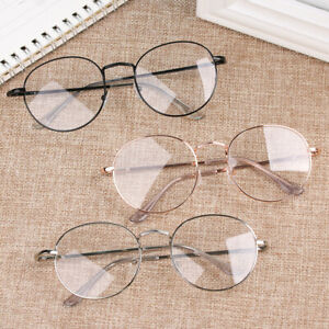 Round -1.00~-4.0 Diopter Vision Care Myopia Glasses Eyeglasses Reading Glasses