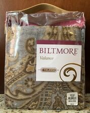 NEW Biltmore For Your Home CLUADE Valance GREY STONE GRAY $68