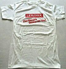 Vintage 80s Leroux Alcohol Flavor's Gonna Hit You T Shirt (M) Surf Skate Punk