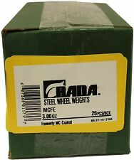 Bada MCFE  MC Steel Wheel Weights 3.00oz. NEW