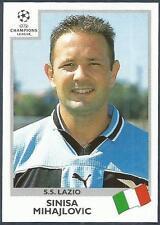 PANINI UEFA CHAMPIONS LEAGUE 1999-00- #005-LAZIO-SINISA MIHAJLOVIC