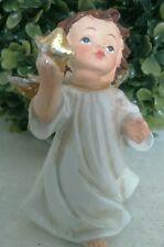 Engel Schutzengel Polyserin Deko Figur Weihnachtsengel Stern shabby chic