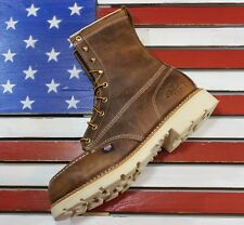 """Thorogood 8"""" American Heritage MOC Steel Toe Boots 804-4378 MADE IN USA Fact 2nd"""