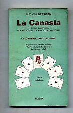 Ely Culbertson # LA CANASTA - Guida Completa # Mursia 1969