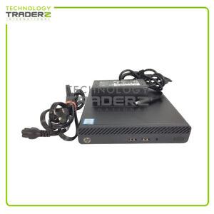 5CM16UT HP 260 G3 DM Intel Core i3-7130U 2.7GHz WIN10 PRO Business PC W/Adapter