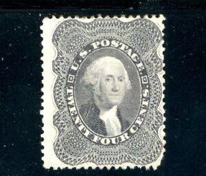 USAstamps Unused FVF US Serie of 1857 Washington Scott 37 NG