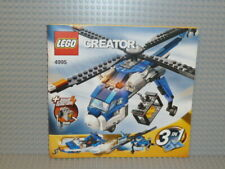 LEGO® Creator Bauanleitung 4995 Cargo Copter Heft 1 ungelocht instruction B5315