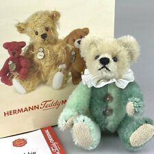 Harlekin Hermann Teddy Original 10cm Miniature Limited Edition Bear - Boxed
