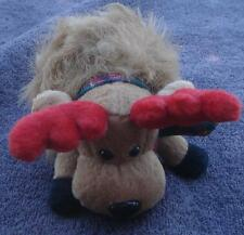 Gently Used Galerie Stuffed Reindeer Decorative Christmas Toy - Very Cute Vgc