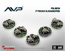 New Aliens Vs Predator The Hunt Begins Facehuggers Expansion Board Game AVP UK