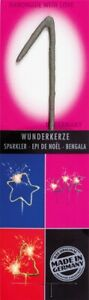 Wondercandle® No. 1 grey Multi classic 10001 - HANDMADE - FREE SHIPPING !!!