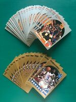 Lot of (34) 1990 Hoops PATRICK EWING New York Knicks Basketball Cards NM-MT++