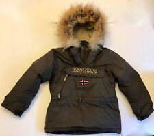 Children Napapijiri Jacket, NEW !!!down feather Real Fur, New with tags.