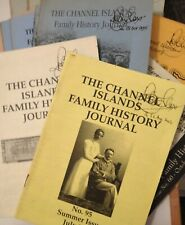 34 Channel Island Family History Journals (1987-2002) - good