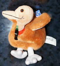 Coca Cola New Zealand Flag Plush Stuffed Animal Coke Bottle Kelp Bird Doll Soda