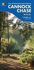 Cannock Chase by Harvey Map Services Ltd (Sheet map, folded, 2007)