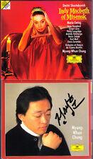 Myung-Whun CHUNG Signiert SHOSTAKOVICH Lady Macbeth of Mtsensk MARIA EWING 2CD