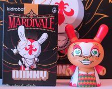 Kidrobot Dunny Mardivale Series HARLEQUIN  REGULAR - open blindbox