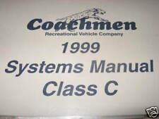1999 Coachmen Systems Manual, Santara 292 SO