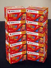 AgfaPHOTO Vista 135 Film 200ASA Recorded 36 10 Films