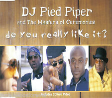 DJ PIED PIPER & MASTERS OF CEREMONIES - Do You Really Like It? (UK CD Single)