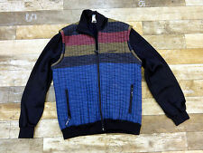 ADIDAS Made in WEST GERMANY Unique Vintage Retro Polyester Hoodie Jacket L