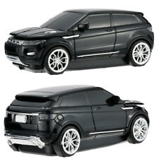 Black 2.4GHZ Wireless Land Rover Range Evoque Car Shape Optical Mice Xmas gift