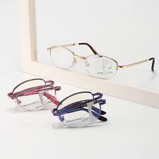 Multi-focus Fold Portable Automatic Zoom Anti-blue Half-rimmed Reading Glasses