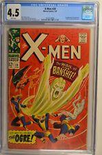 X-Men #28 CGC 4.5 White 1st App. Banshee and Ogre Marvel 1967 Key