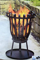 Feuerkorb mit Grillrost Kohlekorb Feuerschale Terrassenfeuer Grill ca. 11 Kg Neu