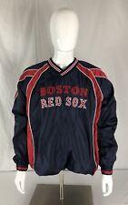 Boston Red Sox G-III Sports Carl Banks MLB Pullover Windbreaker Large Vintage