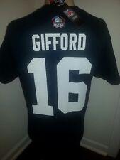 FRANK GIFFORD New York Giants Tee Shirt X-Large Mens Navy Blue New XL HOF NFL