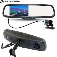 "Car Interior Mirror Built in 4.3"" Monitor HD 1080P Front Camera DVR+ Rear Camera"
