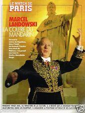 Coupure de Presse Clipping 1990 (3 pages) Marcel Landowski