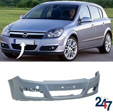 NEW OPEL VAUXHALL ASTRA H 2003 - 2007 FRONT BUMPER WITH HEADLIGHT WASHER HOLES