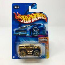 Blings Hummer H2 #34 * GOLD * 2004 Hot Wheels * HC3