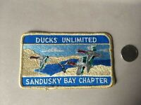 RARE Vintage Ducks Unlimited Sandusky Bay Chapter Patch