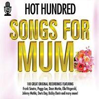 HOT 100  HUNDRED SONGS FOR MUM(MOM MOTHER 4 CD BOX SET 1960'S DEAN MARTIN & MORE