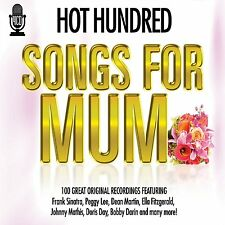 HOT 100  HUNDRED SONGS FOR MUM(MOM MOTHER 4 CD BOX SET 1960'S DEAN MARTIN & MORE