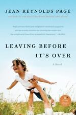 Leaving Before It's Over: A Novel, , 0061876925, Book, Good