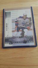 2001-02 UD Honor Roll #32 Wayne Gretzky Edmonton Oilers
