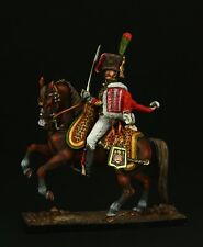 Tin soldier, Museum (TOP), Officer of Mounted Chasseur of Guard 54 mm Napoleonic