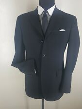 DOLCE &GABBANA Made In Italy   100% Wool  Gray  Blazer 3 Btn 40L-Fit 40L-43 Long