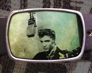 Elvis Vintage Inspired Art Gift Belt Buckle