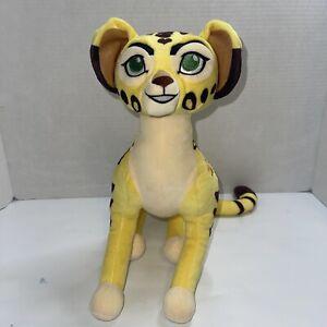 "Disney Store Lion Guard Lion King FULI the Cheetah Full-Sized 12"" Plush Toy"
