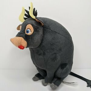 "Ty Beanie Babies FERDINAND the Bull 7"" Beanbag Plush Stuffed Animal Toy"