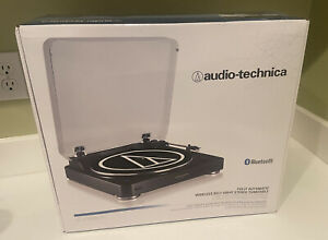 Audio-Technica (AT-LP60BK-BT) Automatic Wireless Belt-Drive Stereo Turntable