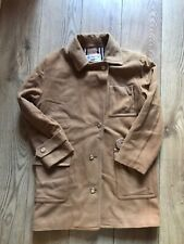 Burberry Vintage Womens Wool/Cashmere Trenchcoat In Size 40. (L)