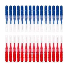 30pcs Tooth Flossing Head Hygiene Oral Dental Plastic Interdental Brush Tool