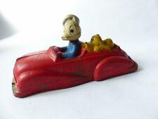 Voiture jouet Donald Duck et Pluto 1950 (27186)